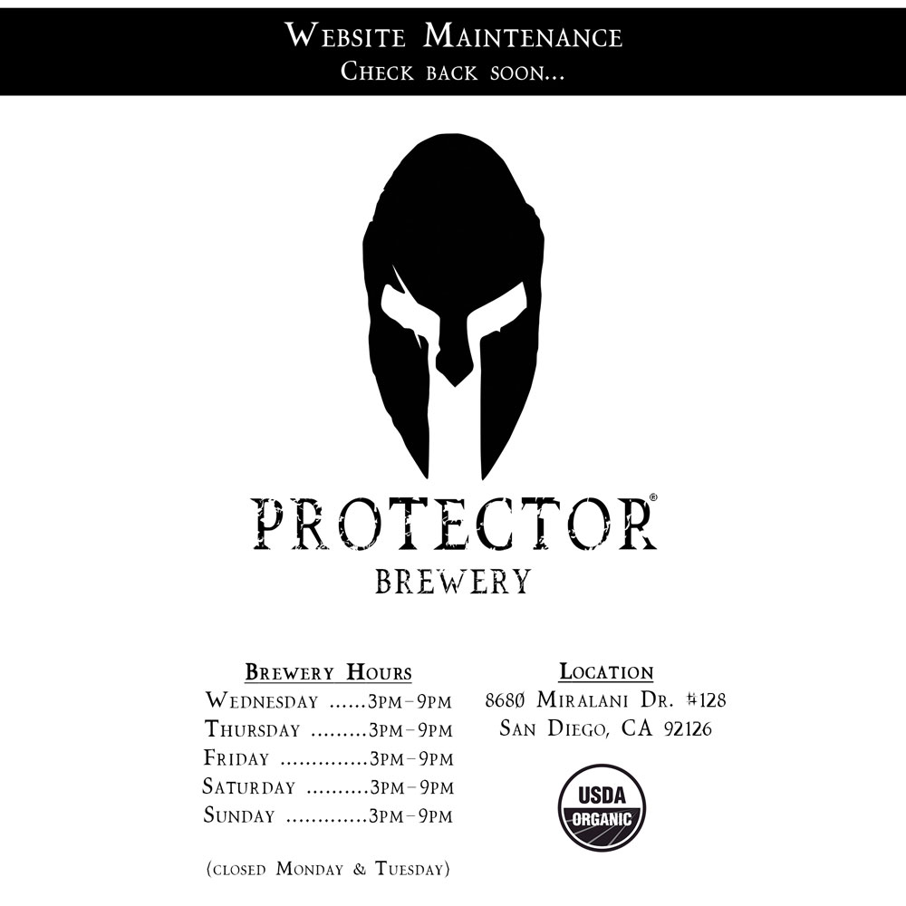 Protector Brewery - Website Maintenance